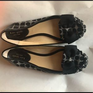 Size 7 1/2 Kate spade polka dot loafers